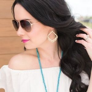 Kendra Scott Lacey Earrings in Silver